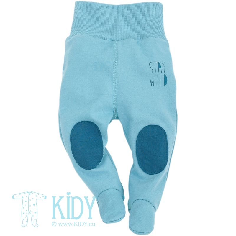 Blue footed pants WILD BOY