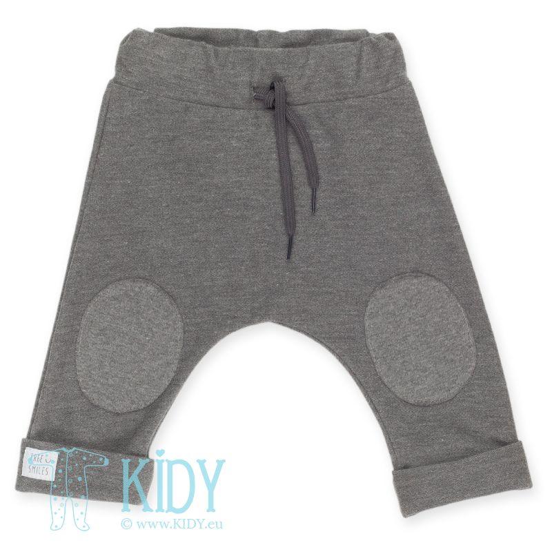 Pilkos kelnės HAPPY KIDS (Pinokio)