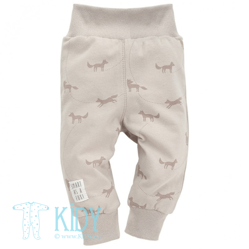 Beige pants SMART FOX