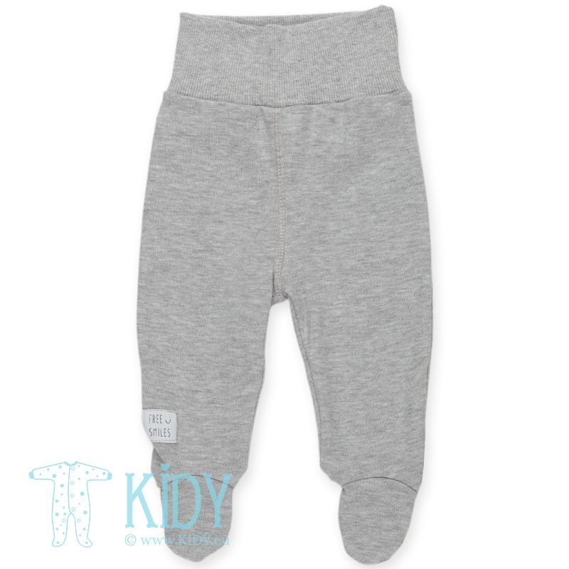 Grey footed HAPPY KIDS pants