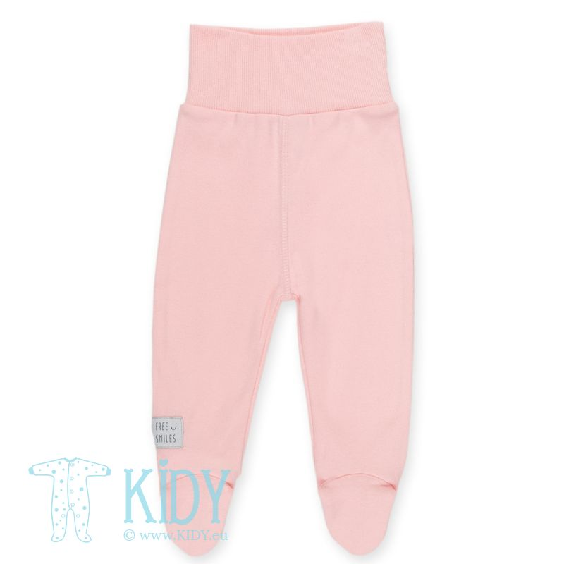 Pink footed HAPPY KIDS pants