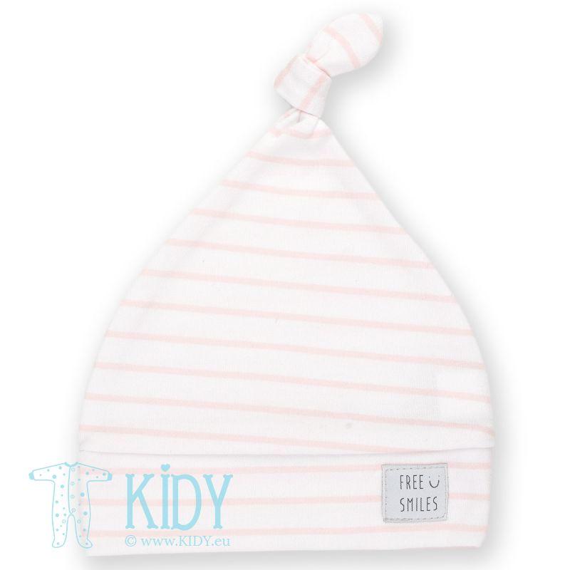 Rožinė kepurė HAPPY KIDS