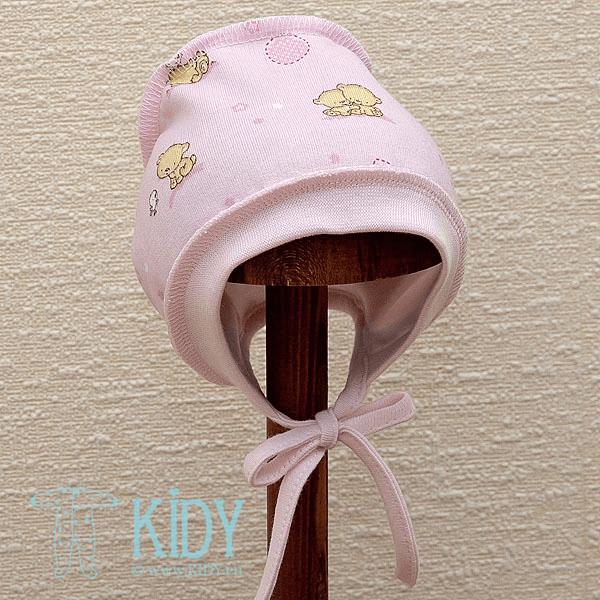 Rožinė kepurė POPSI