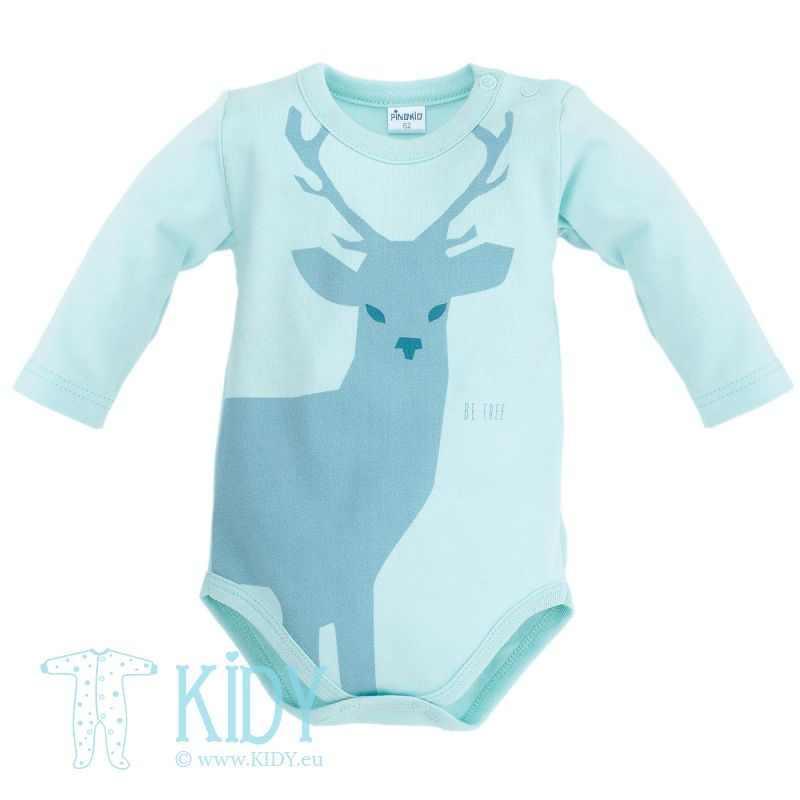 Blue WILD BOY bodysuit