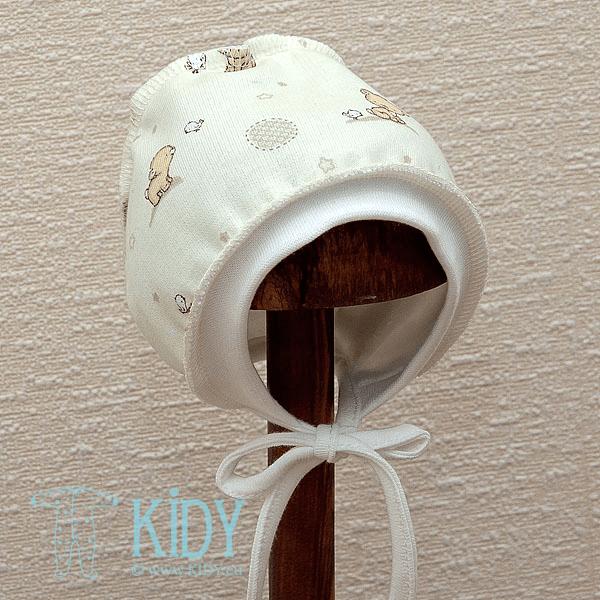 Kreminė kepurė POPSI