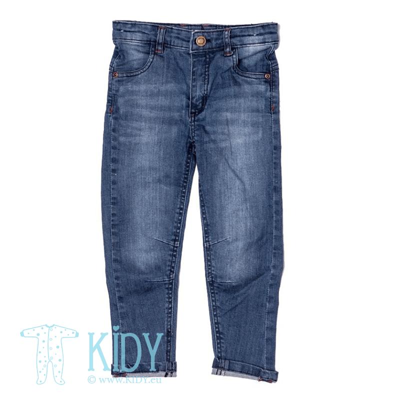 Синие джинсы FLY