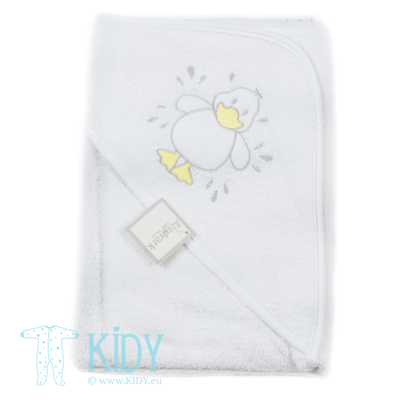 Baby hooded towel DUCK