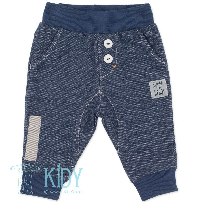 Синие штанишки GARCON