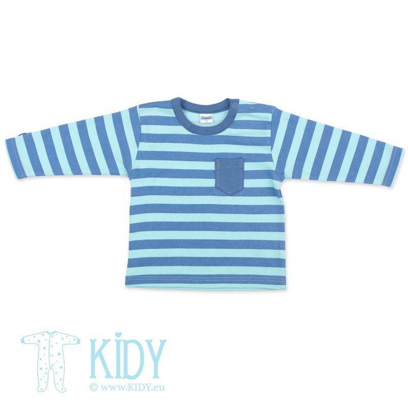 Mėlyni marškinėliai GARCON