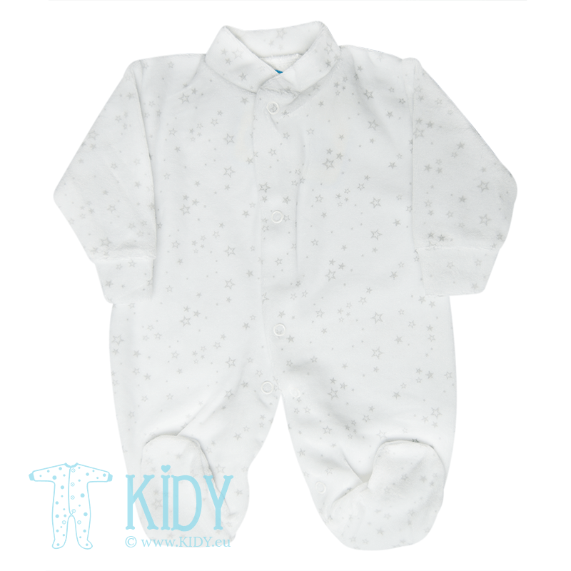 White sleepsuit PREMATURE