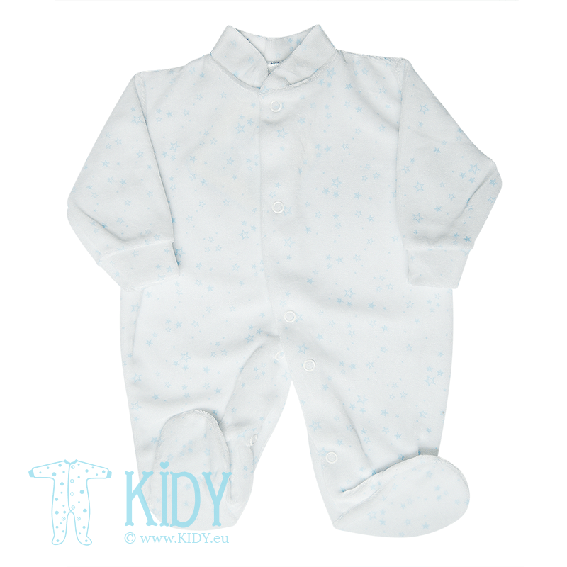 Blue sleepsuit PREMATURE