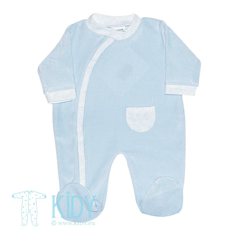 Blue sleepsuit PREMATURE