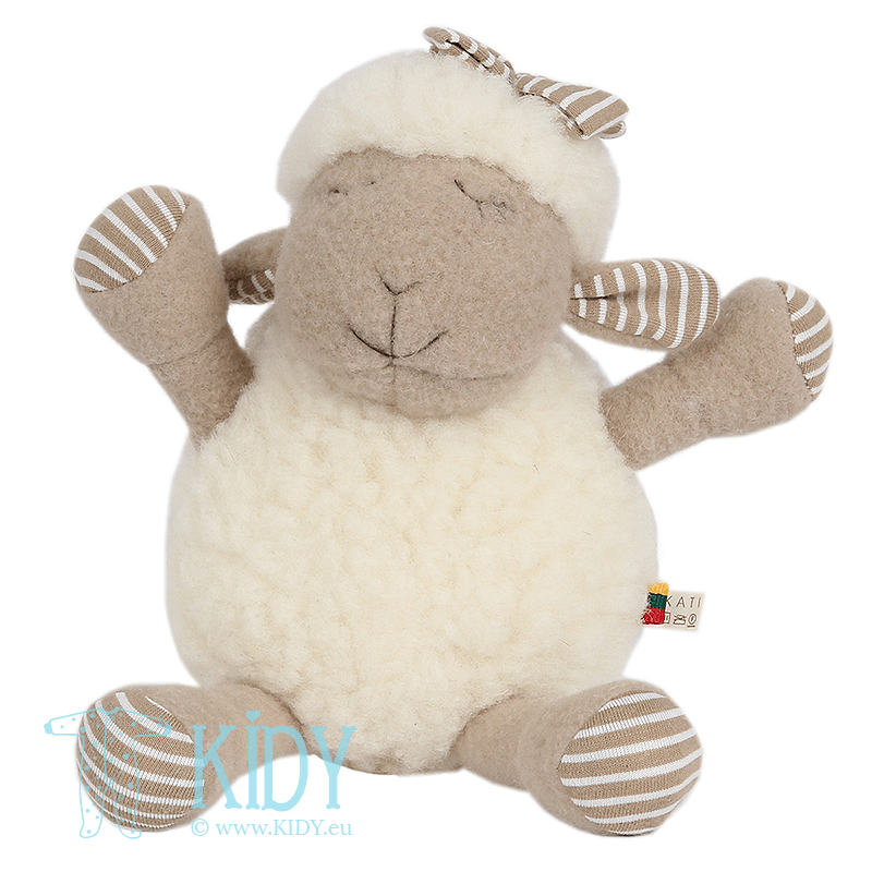 Plush lamb toy KATI