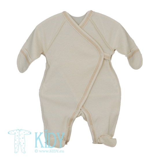 Cream sleepsuit LULU