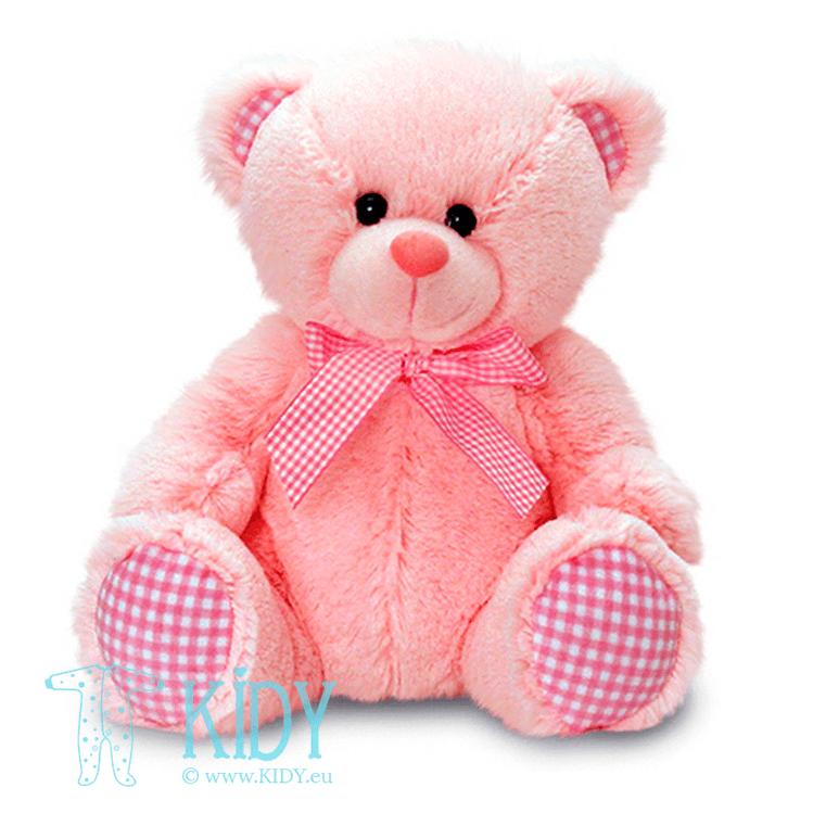 Rožinis meškiukas GINGHAM