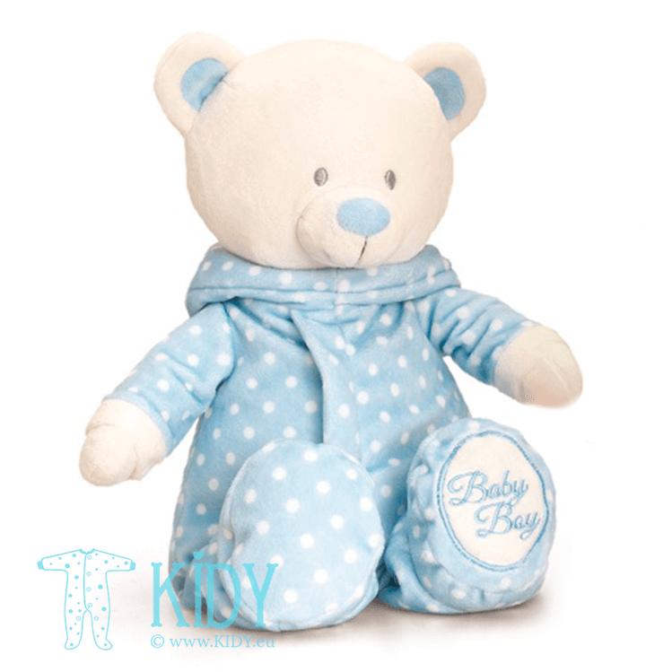 Blue baby bear ROMPERSUIT (Keel Toys)