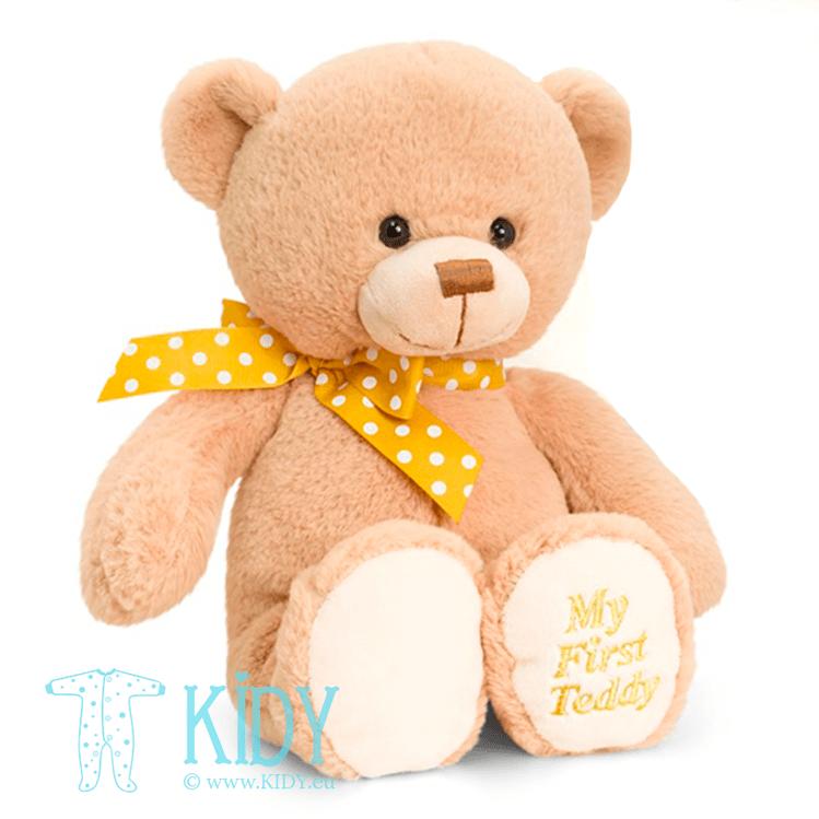 Beige MY FIRST TEDDY bear