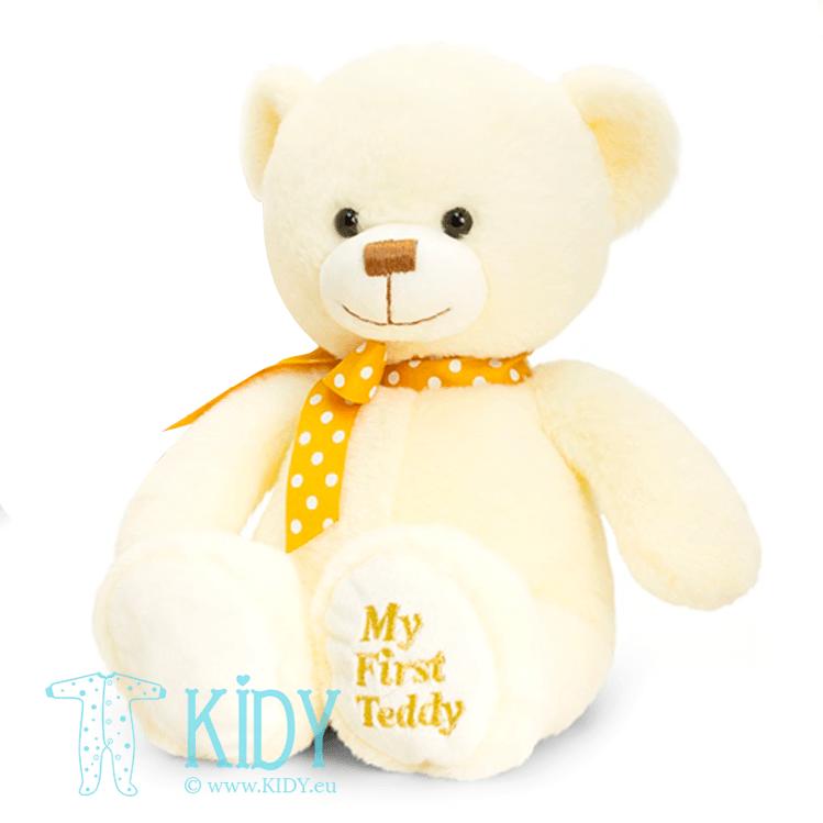 Creamy MY FIRST TEDDY bear