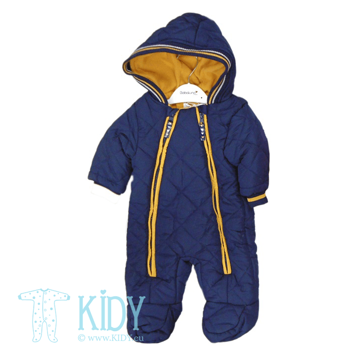 Navy snowsuit RACCOON