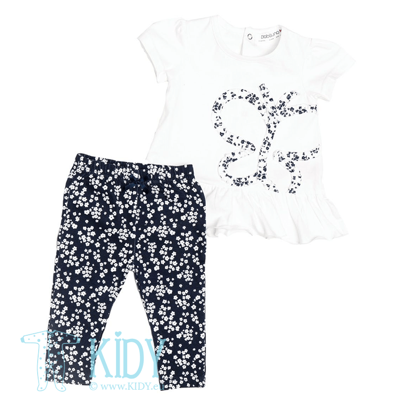 BUTTERFLY set: T-shirt + leggins