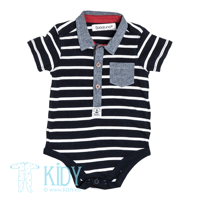 Navy bodysuit DEEP SEA FRIENDS