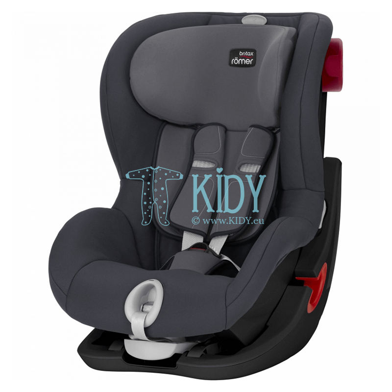Автокресло King II LS Storm Grey BLS