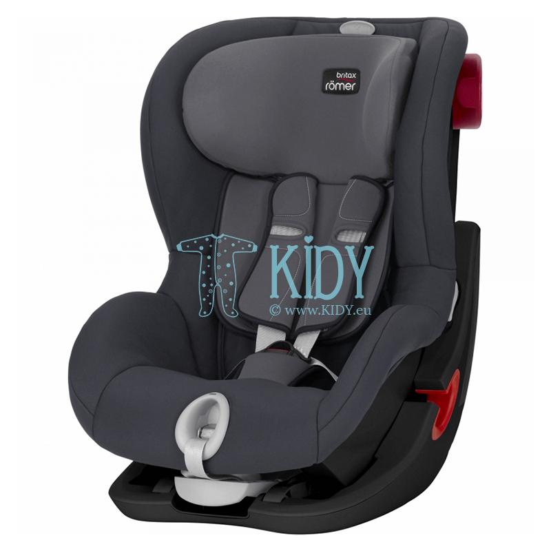 Car seat King II LS Storm Grey BLS