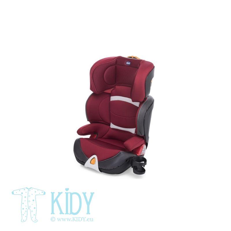 CHICCO automobilinė kėdutė Oasys 2-3 Evo Baby Red Passion