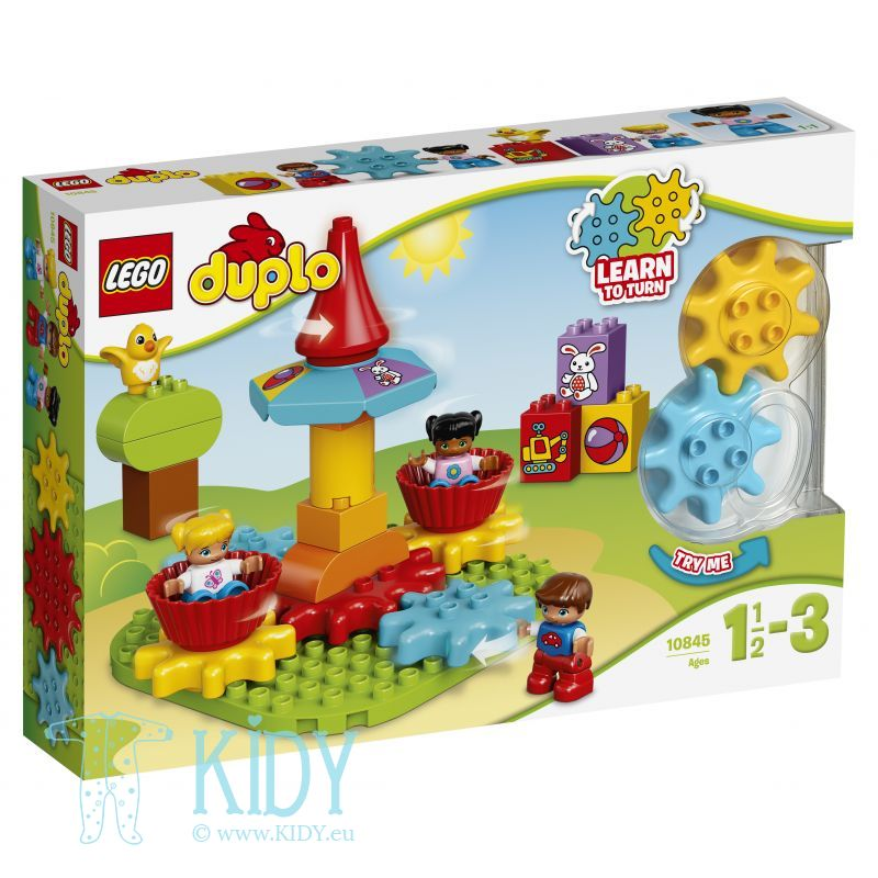 LEGO® DUPLO® Creative Play My First Carousel