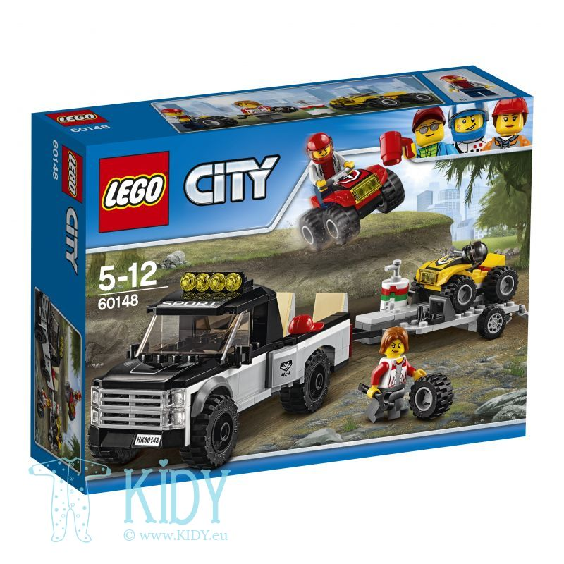 Гоночная команда LEGO® City Great Vehicles ATV Race Team