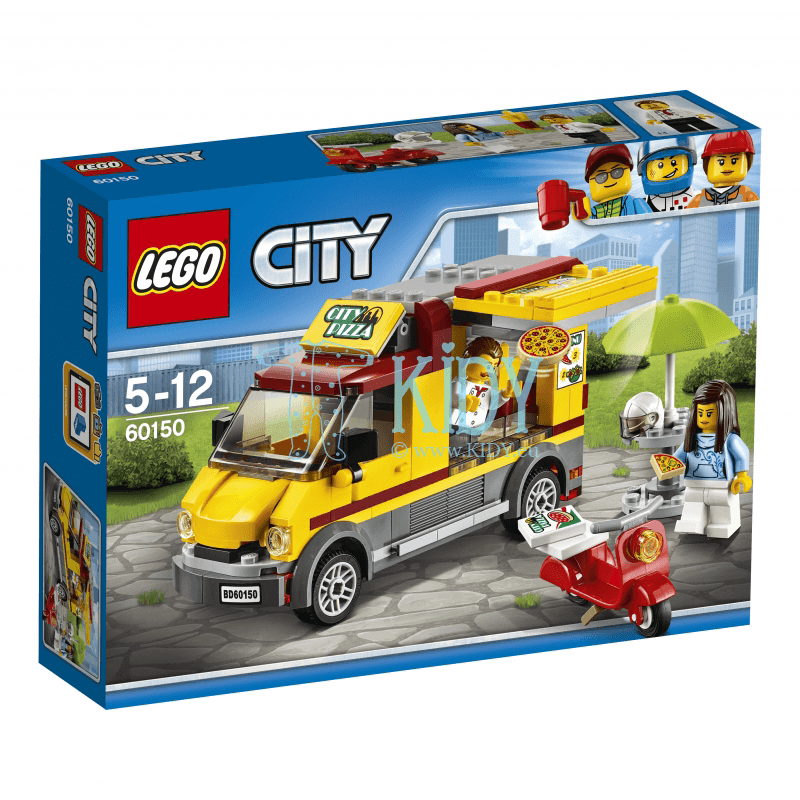 LEGO® City Great Vehicles Pizza Van