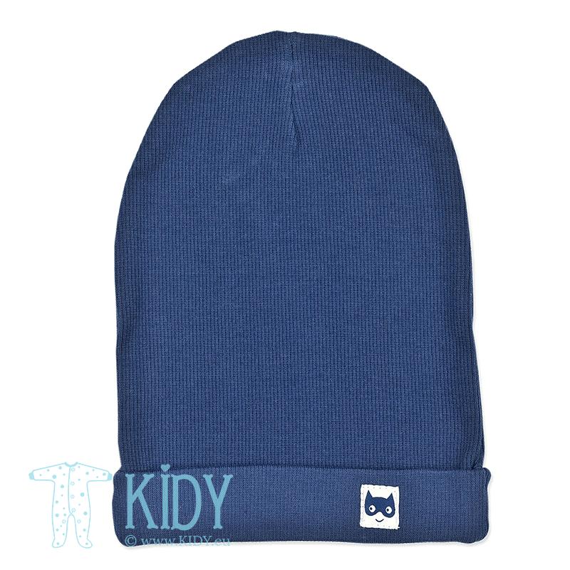 Синяя шапка GARCON