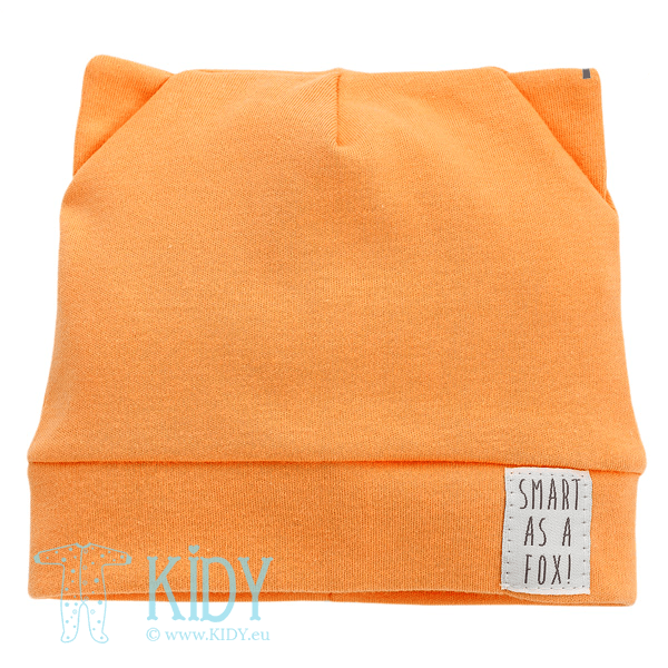 Orange SMART FOX hat