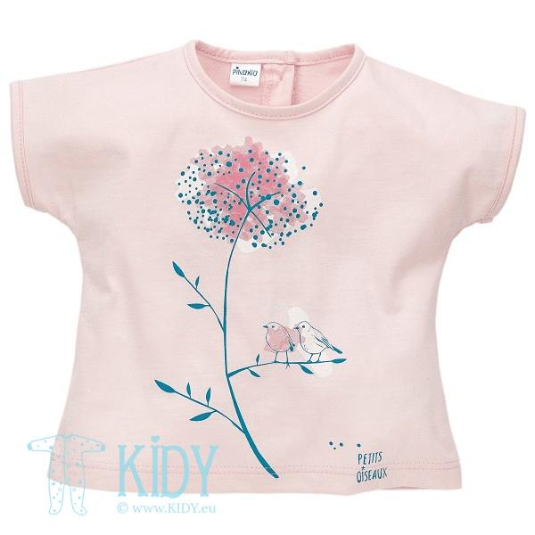 Rožini marškinėliai MARTINET