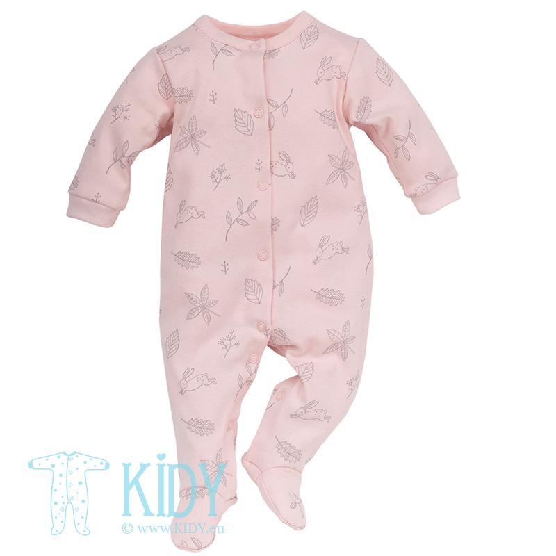 Rožinis kombinezonas-pižama COLETTE