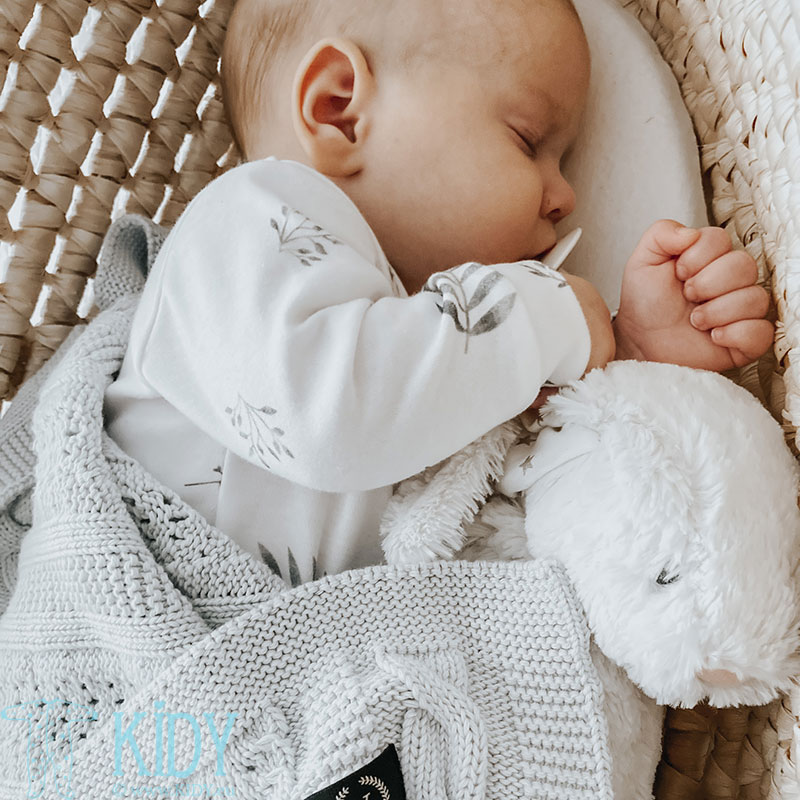 Baltas kombinezonas-pižama GREY LEAVES (YOSOY) 4