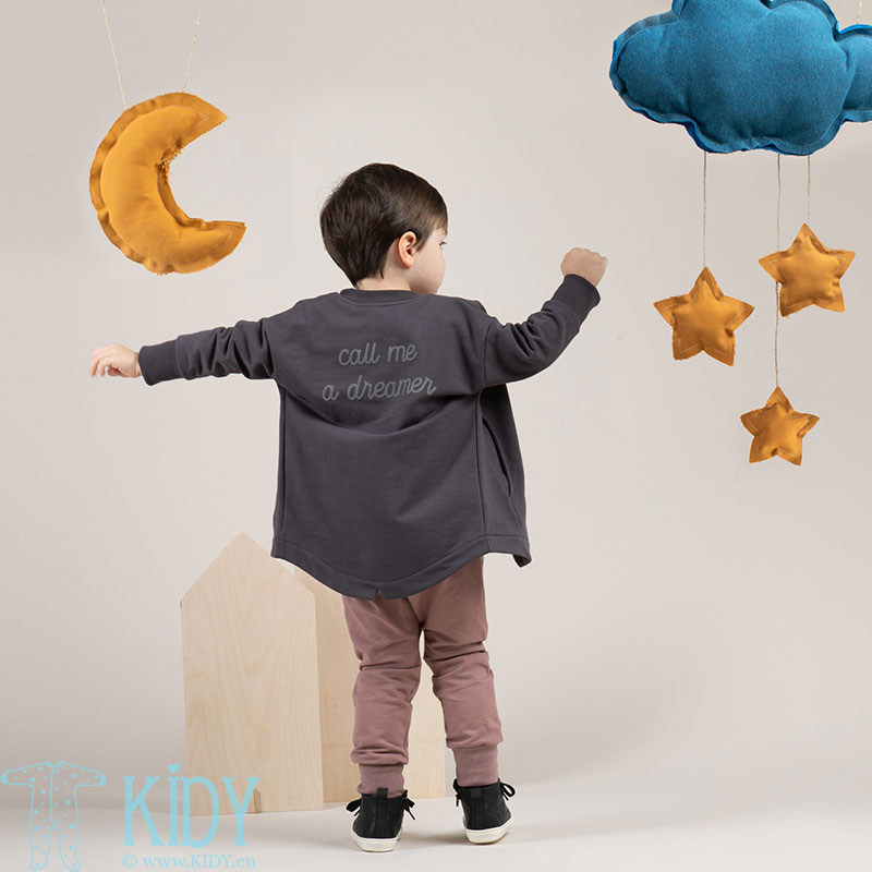 Pilkas džemperis DREAMER (Pinokio) 4