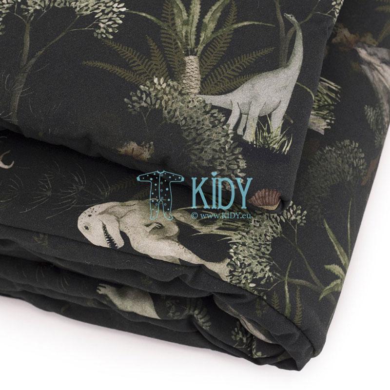 Patalynės komplektas Dino World: antklodė + pagalvė (MAKASZKA) 4