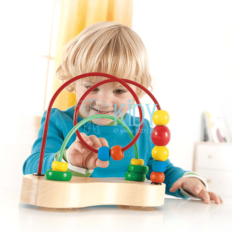 Lavinantis žaislas Dvigubas burbulas (Hape) 4
