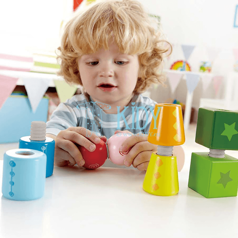 Blocks TWIST AND TURNABLES (Hape) 4