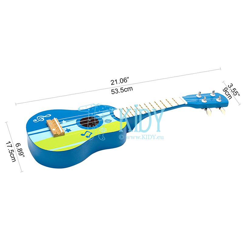 Mėlyna gitara (Hape) 4