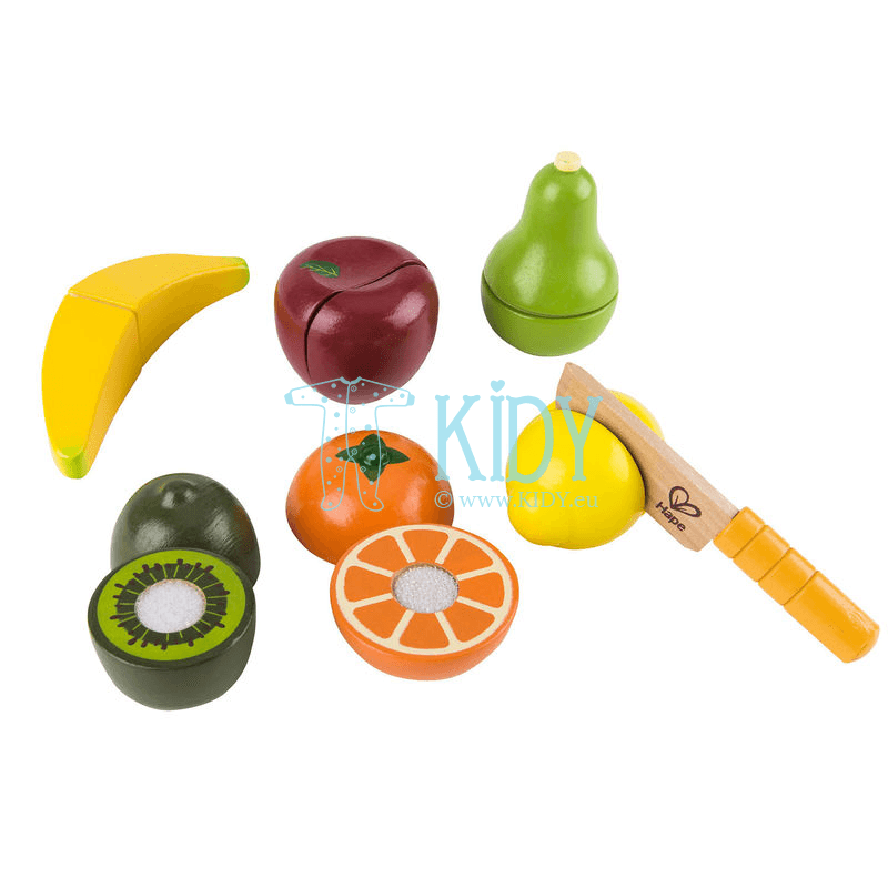 Žaislinis rinkinys Švieži vaisiai FRESH FRUIT (Hape) 4