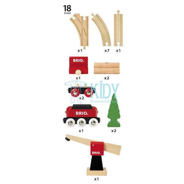 Классический грузовой набор (Brio) 4