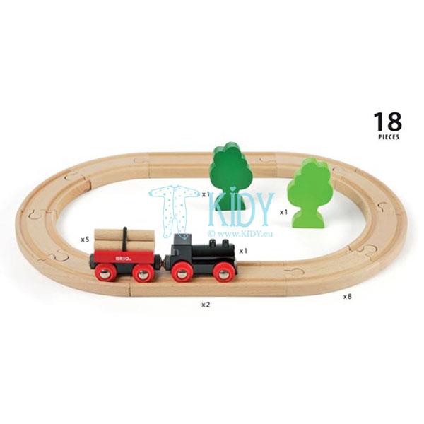 Little Forest Train Set (Brio) 4