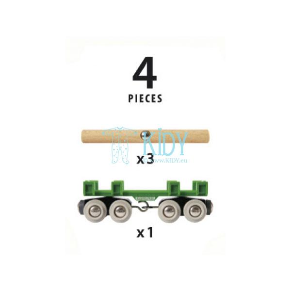 Vagonas medienai vežti (Brio) 4