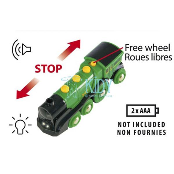 Большой зеленый локомотив (Brio) 4