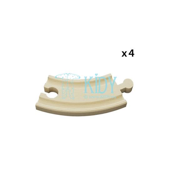 Lenktų kelio detalių rinkinys, maži (Brio) 4