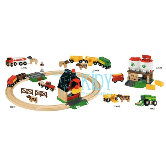 Farm Railway Set (Brio) 4