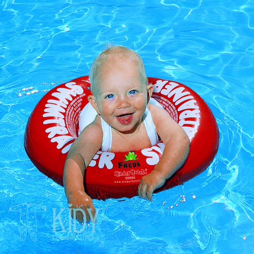 Red SWIMTRAINER Classic swimming ring (SWIMTRAINER) 4