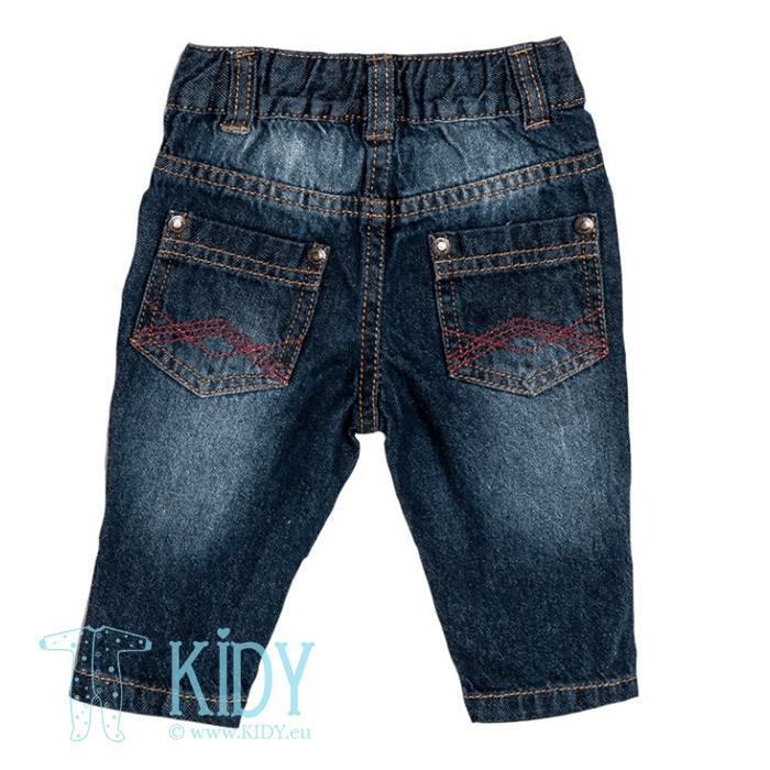 Komplektas DEEP SEA FRIENDS: marškiniai + džinsai (Babaluno) 4